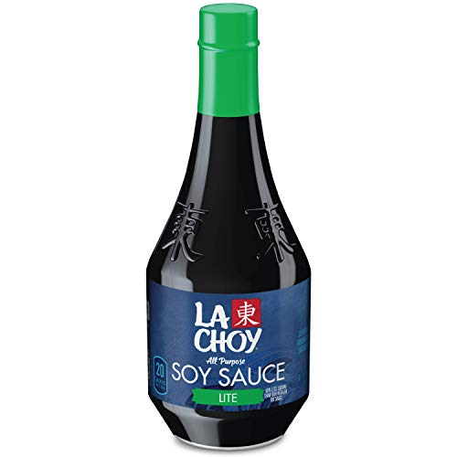 La Choy Lite Soy Sauce, 10 Fl Oz (Pack of 12)