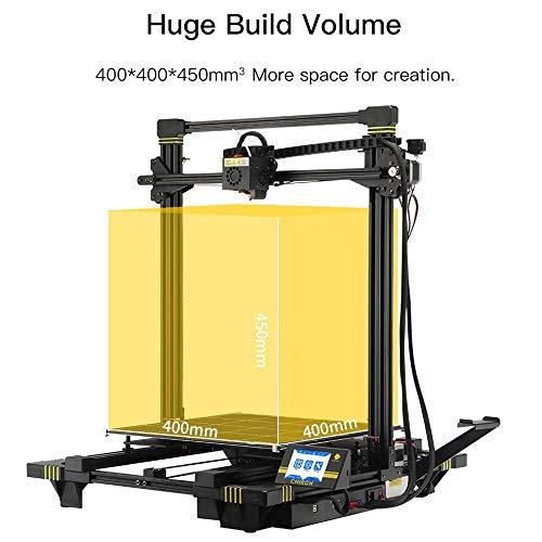 ANYCUBIC Impresora 3D Chiron con Asistente de Auto Nivelación y Cama Caliente con Ultrabase de Gran Tamaño de impresión 400x400x450mm, Compatible con filamento PLA, TPU, ABS