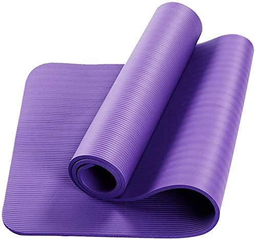 LSLS Esterilla De Yoga Matetas de Yoga Ambiental Antideslizante PROTECCIÓN DE PROTECCIÓN Viaje DE Viaje DE LUZ Suave Movimiento Fitness Mat Fitness APLETE 15mm Esterilla Fitness