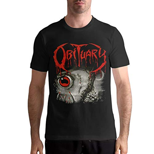 Audry A Aeorge Obituary Band Graphic Men Ultra Cotton Adult Fashion T-Shirt Black