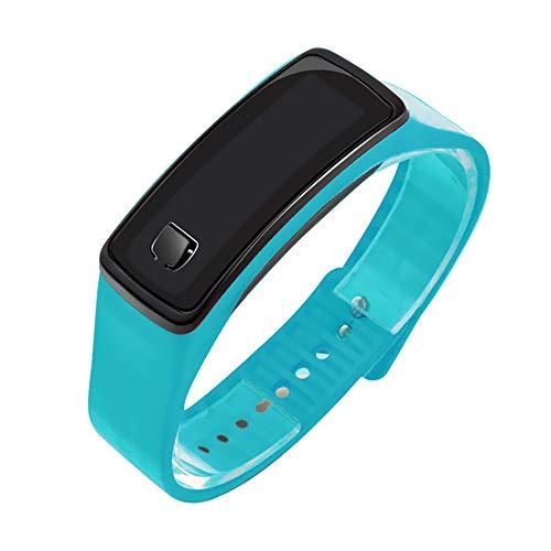 Roblue Kinderuhren Digitaluhren für Jungen und Mädchen Silikon Gelee Sportuhr Elektronische Digital Uhren LED Armbanduhr Outdoor Wasserdicht Digital Uhren