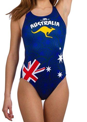 Turbo Damen Australia 2011 Bikini-Unterteile, Marin, X-Large