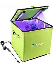 BECROWMEU UV Sanitizer Box, UV Desinfectie Box LED UV Sterilisatie Tas UVC Cleaner Desinfectie Lamp voor Baby Fles Ondergoed Mobiele Telefoon Kleding Schoonheid Gereedschap Speelgoed