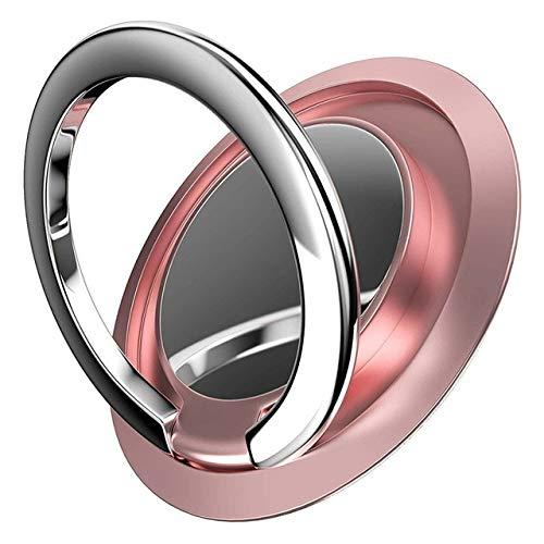 XMYNB Phone holder2P/Metal Mobile Phone Holder Stand Finger Ring Magnetic Car Bracket Socket Telephone Ring Phone Holde