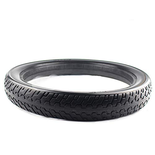 JYCTD El neumático sin cámara sólido de 16x2.125 de 16 Pulgadas se Adapta al neumático de vehículo eléctrico de Bicicleta eléctrica Plegable