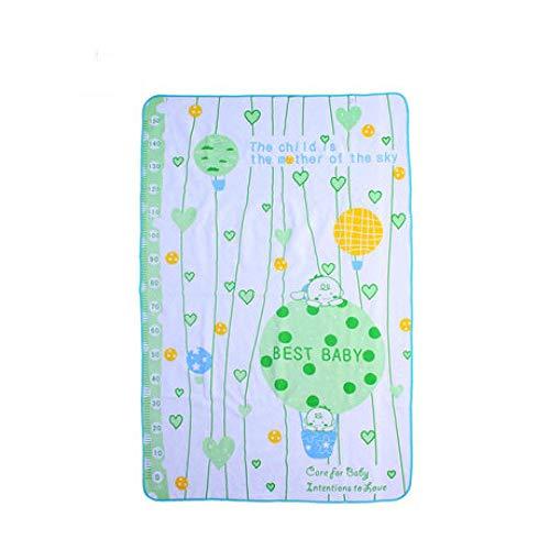 GESS Baby waterdichte wasbare handdoek luierpad, grote ademende lekbestendige mat voor kinderen - 100 x 150cm