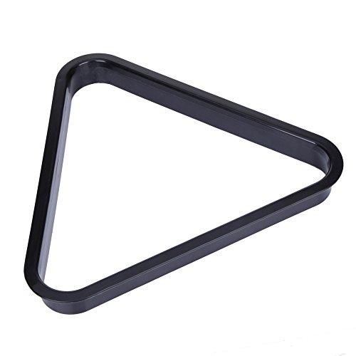 Toolso Billardtisch für 8 BALSL, Kunststoff, Dreieck, Standardgröße, praktisches Werkzeug