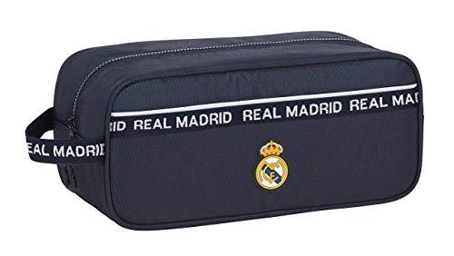 Safta 812034194 Bolso zapatillas zapatillero Real Madrid CF, azul marino, talla única