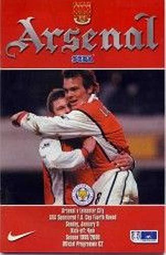 Arsenal Vs Leicester City F.A. Beker - 4e Rd 99/00 Seizoen - Voetbal Programma