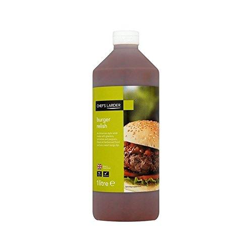 Relish 1L Larder Burger Packung Mit 6 Küchenchef