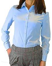 ビックサイズ (XS~8XL) カッターシャツ An.Shulla ブラウス 白 黒 13サイズ ワイシャツ スーツ 長袖 ビジネス 制服