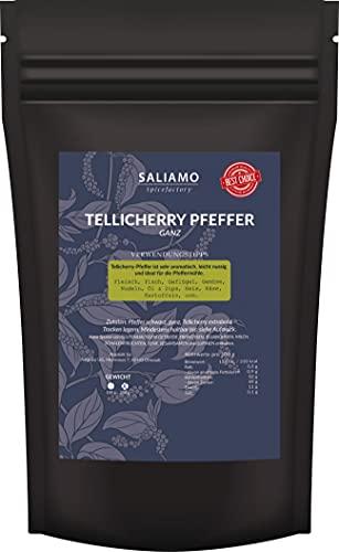 Pfeffer, schwarz, Tellicherry 250 g | Saliamo
