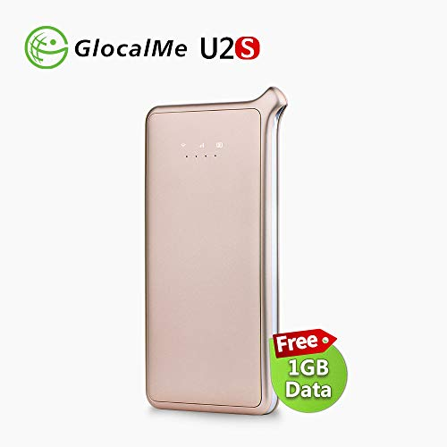 GlocalMe U2S 4G LTE Mobile Hotspot, High Speed WiFi Hotspot with 1GB...