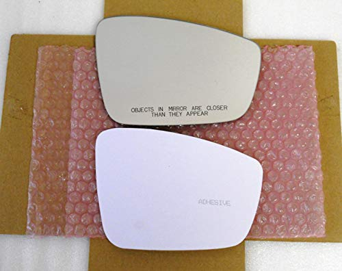 New Replacement Mirror Glass with FULL SIZE ADHESIVE for VOLKSWAGEN JETTA PASSAT BEETLE Passenger Side View Right RH