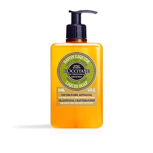 L'Occitane Shea Butter Verbena Liquid Soap Seife, 500 ml