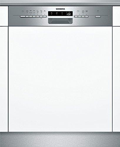 Siemens iQ500 SN56P530EU speedMatic Teilintegrierbarer Geschirrspüler / Einbau / A++ / 13 Maßgedecke / Edelstahl / VarioSpeed Plus / Startzeitvorwahl / VarioFlex-Körbe
