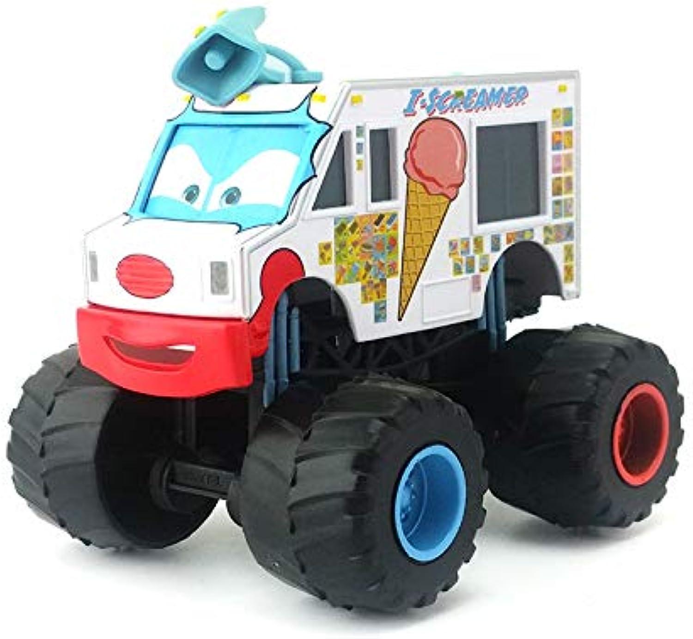 Disney Disney Pixar Cars Frightening McMean Rasta Carian Tormentor Monster Mater Diecast Toy Car 1 55 Loose & IScreamer