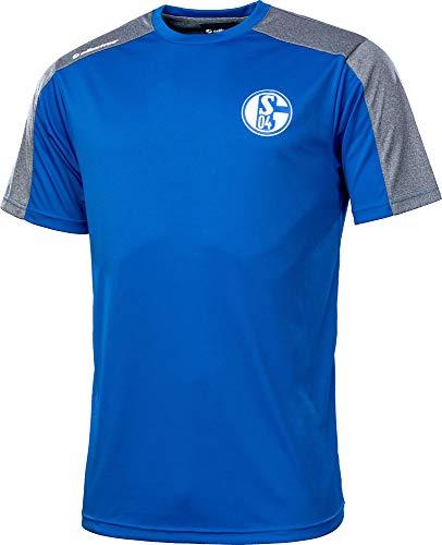 Albatros Schalke 04 Clima PRO S04 - Camiseta de manga corta Azul (300). XXL