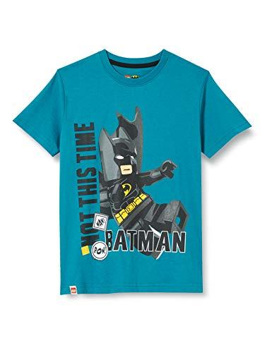 LEGO Jungen Mwa Batman T-Shirt, 763 Sea Turquise, 128