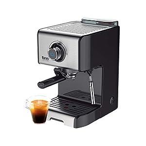 TM Electron TMPCF101 cafetera Espresso Manual con 15 Bares de presión,