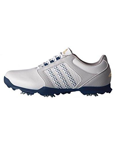adidas Damen Adipure Tour Golfschuhe, Grau (Clear Grey/Mystery Blue/Mystery Blue), 36 2/3 EU
