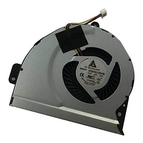 IPOTCH Piezas de Recambio del Refrigerador del Cuaderno del Refrigerador del Refrigerador del Ordenador Portátil del Refrigerador de La CPU para A43 X53