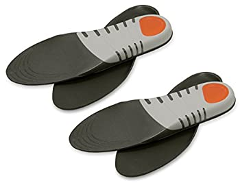 Trek Support Sport Insole for Men Size 8-13 2 Pairs
