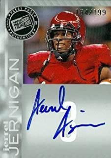 Autograph Warehouse 99595 Jerrel Jernigan Autographed Football Card Troy 2011 Press Pass Rookie No. Pps-Jj4