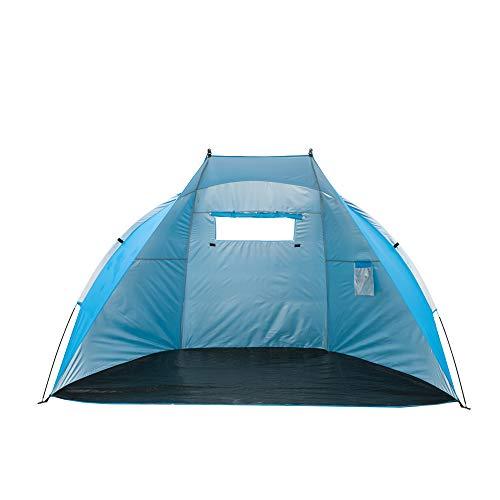 iCorer Extra Large Outdoor Portable EasyUp Beach Cabana Tent Sun Shelter Sunshade, Blue