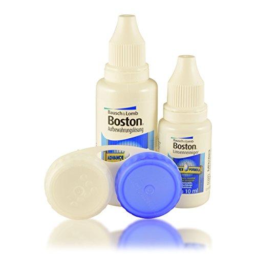 Boston Flight Pack Kontaktlinsenflüssigkeit, reiniger und -behälter