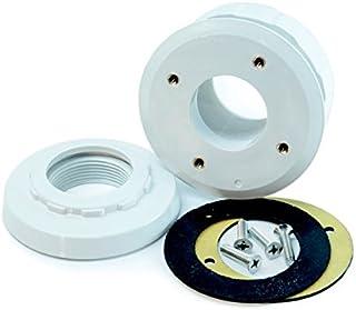 Productos QP Boquilla Aspiracion Piscina Pref Liner Tapa Abs- Negro- 21x15x30 cm- 500193