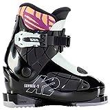 K2 Luvbug-1 Botas de esquí, Niñas, Negro-Menta, Mondo: 17.5 (EU: 29 / UK: 10 / US: 11)