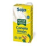 NaturGreen Bebida de Soja Canela y Limón - 1 Litro