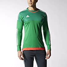 Adidas Top 15 Goalkeeper Mens Soccer Jersey S Green-White-Bright Red