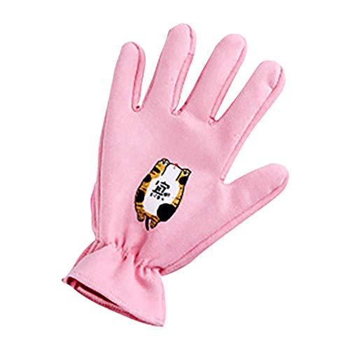 Nettoyer Les Animaux Peigne en Poils De Chat pour Flotter Les Poils du Chat Perte De Poils en Peigne Brosse HUYP (Color : Pink, Size : Right Hand)