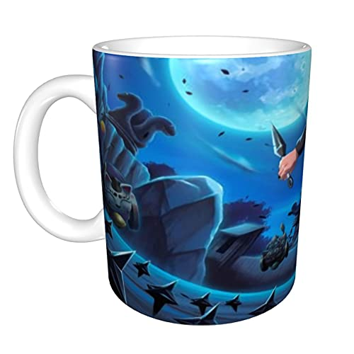 Anime Naruto Uchiha - Taza de café de cerámica, tamaño grande, 325 ml