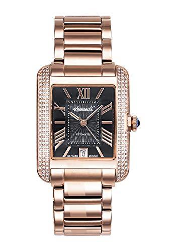 Ingersoll Damen Analog Automatik Uhr mit Edelstahl Armband IN1715RBK