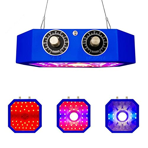 ZMHS LED Grow Light Adjustable 1000W COB, Full Spectrum Plant Light Growing Lamps with Veg and Bloom Adjust Knobs, for Indoor Plant Greenhouse Flower
