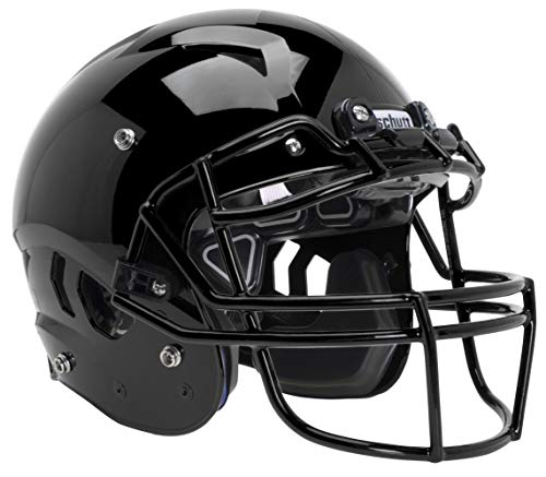 Schutt Sports Vengeance A11 Youth Football Helmet with Facemask, Black, Small