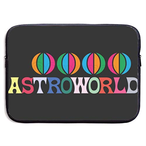 Caseling Neoprene Sleeve Pouch Case Bag for 13/15'' Inch Laptop Computer Travis Scott Astroworld Logo Designed to Fit Any Laptop/Notebook/Ultrabook/MacBook