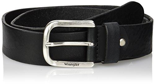 Wrangler Herren Easy Belt Gürtel, Schwarz (Black 01), 85
