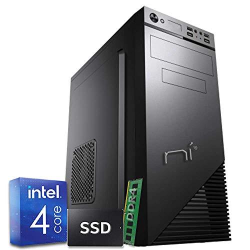 PULSAR PC Desktop Intel quad-core 2.7 ghz ssd 240gb ram 8gb ddr4