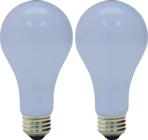 GE Reveal HD 3-Way Light Bulbs, A19 General Purpose (50/100/150 Watt Light Bulbs), 450/1150/1600 Lumen, Medium Base Light Bulbs, 2-Pack 3-Way Light Bulbs