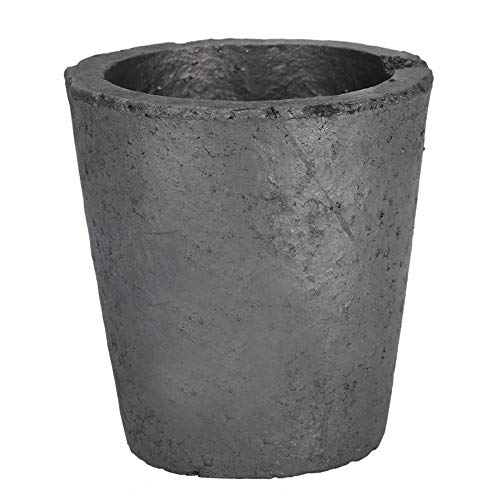 Zewoi Crisol de Grafito Copa de fusión del Metal de fundición lingotera, de Horno de Coque del Horno eléctrico,OD:160mm x Height:200mm
