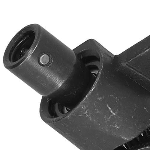 Evonecy Prensatelas para Coser, prensatelas de Alta eficiencia para máquinas de Coser, Duradero para técnicas de Costura para máquinas de Coser industriales con Pespunte(28mm)