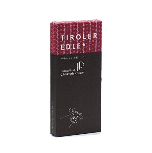 Tiroler Edle Schokolade Edelbitterschokolade Whisky Edition