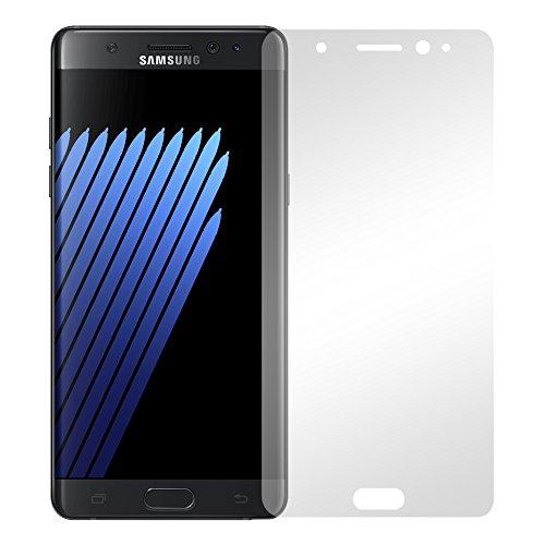 Slabo 2 x Bildschirmfolie für Samsung Galaxy Note 7 Bildschirmschutzfolie Zubehör Crystal Clear KLAR