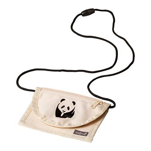 Pagna Brustbeutel 13x10cm Save me Panda mit Fenster für Namensschild