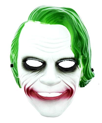 Máscara de Joker - Personaje - película - Accesorios - Disfraz - Cosplay Carnaval - Halloween - Idea de Regalo para Navidad y cumpleaños