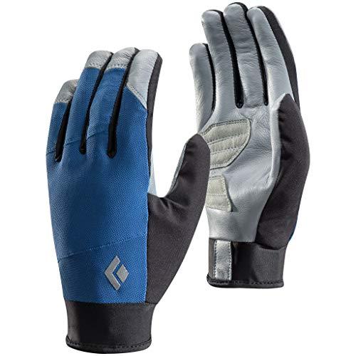 Black Diamond Gants Trekker - Gants légers et extensibles en tissu respirant - Idéaux pour activités par températures modérées / Unisexe, bleu, taille XL
